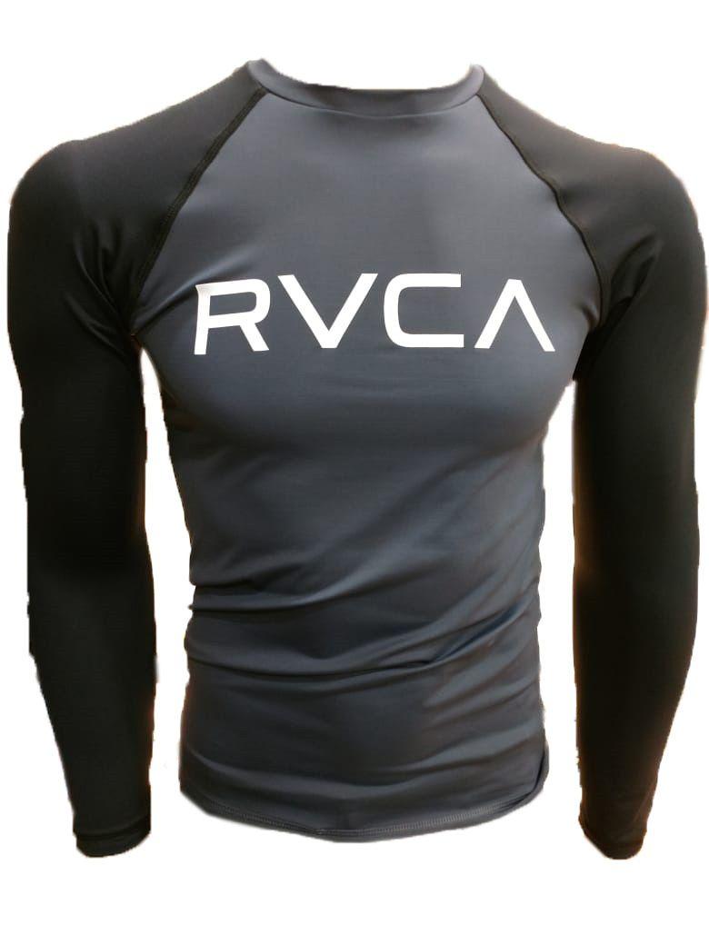 Camisa de Lycra RVCA Big Bicolor manga longa