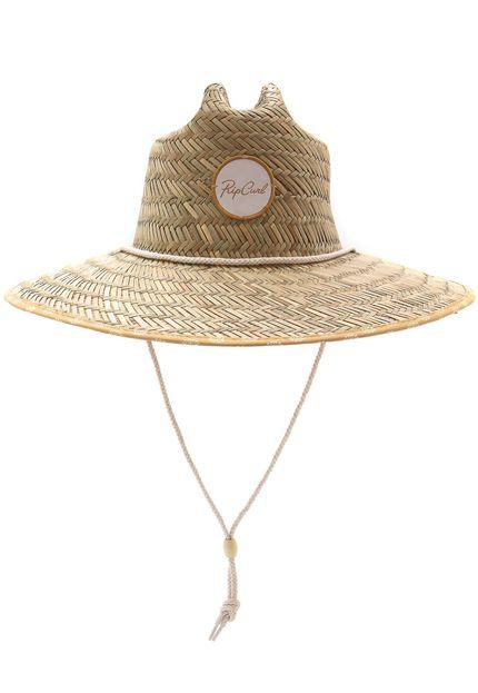 Chapéu de Palha Rip Curl Coastal Tides Straw Feminino