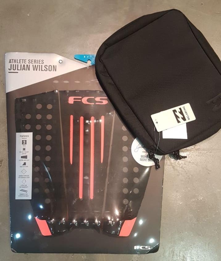 Kit Deck FCS + Porta Quilhas Billabong