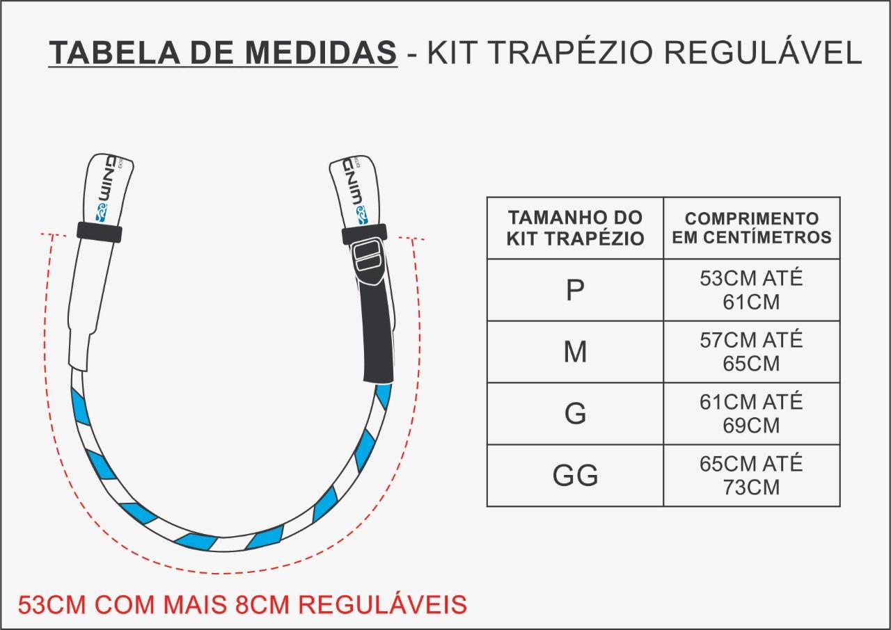 Kit Trapézio Regulável Windbra