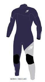 Long John Mormaii Ultra Skin 3.2 Mm Back Zip