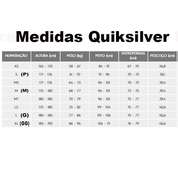 Long John Quiksilver Marathon Sessions Chest Zip 3/2 mm