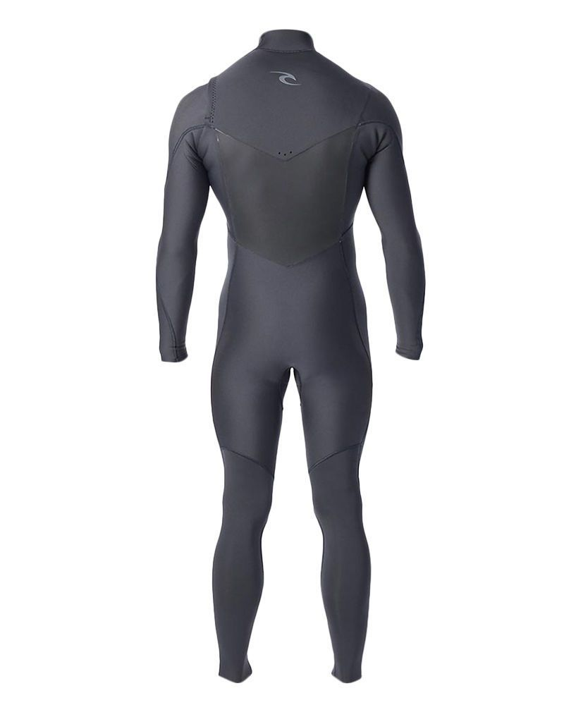 Long John Rip Curl Dawn Patrol 3.2 mm E5 Chest Zip Preto