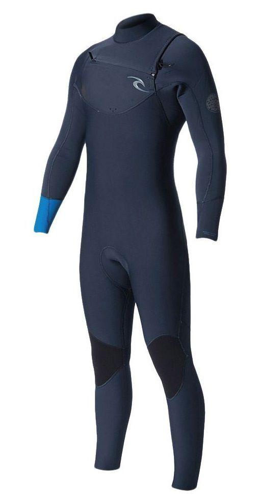 Long John Rip Curl Dawn Patrol Chest Zip 3,2 Mm 2018 Blue