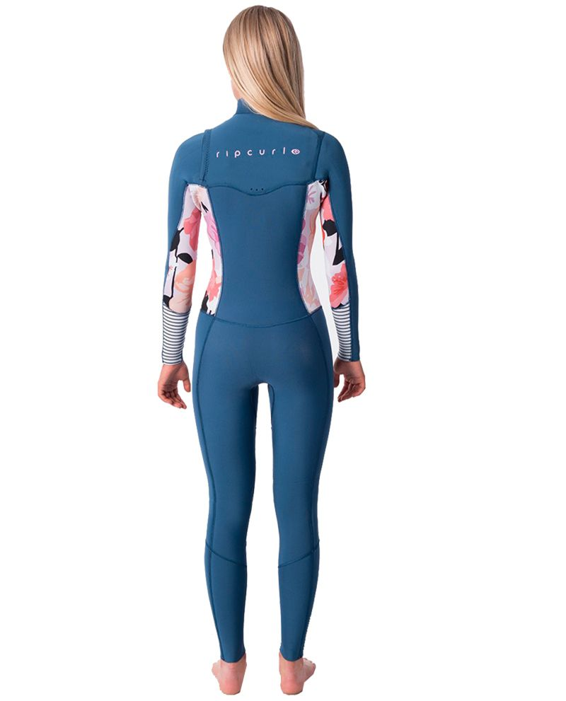 Long John Rip Curl Dawn Patrol Feminino Chest Zip 3.2 mm