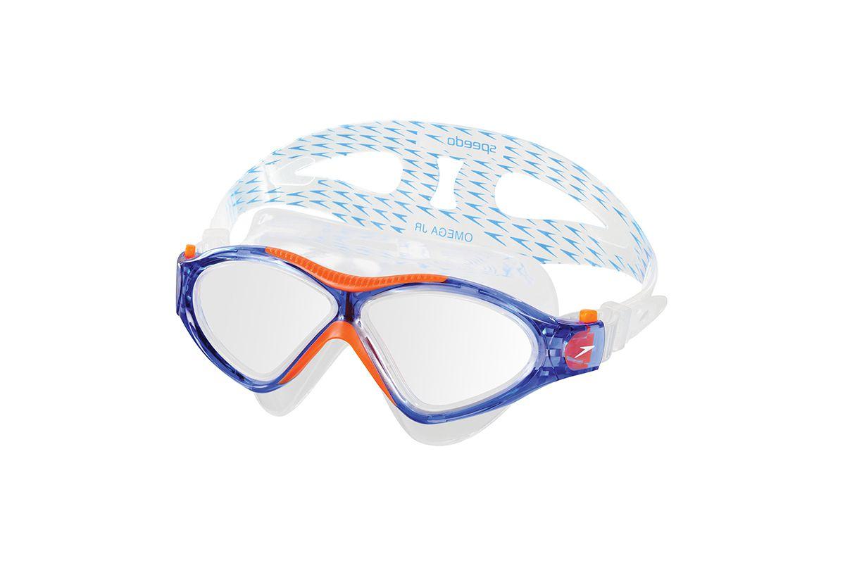 Óculos De Natação Speedo Omega Sf Cor:Azul