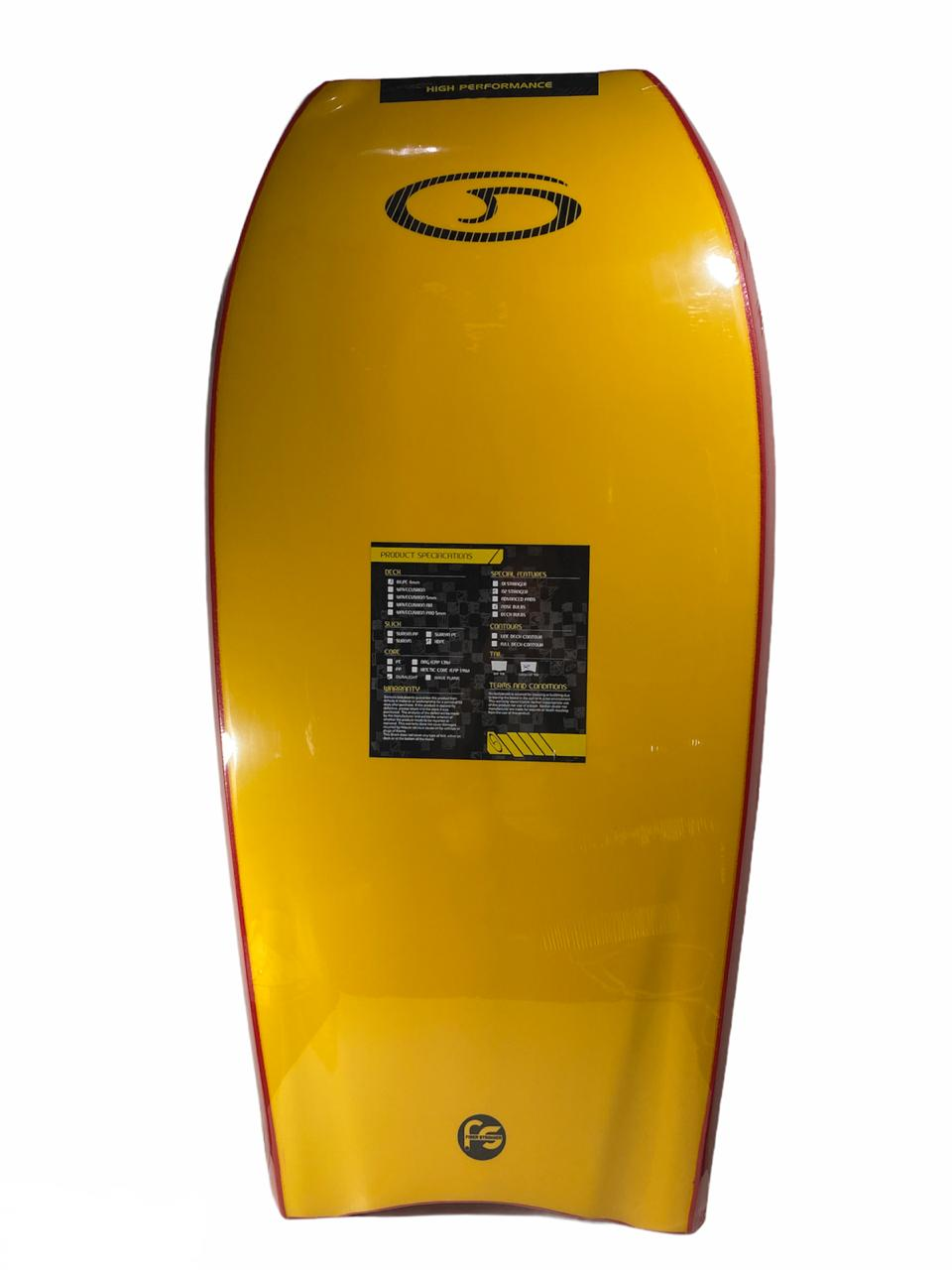 Prancha de Bodyboard Genesis Daniel Rocha Duralight 43´´