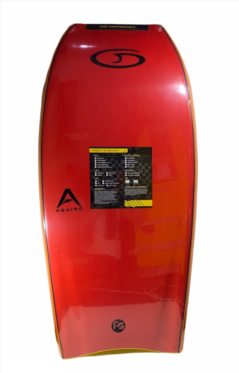 "Prancha de Bodyboard Genesis Duralight Fabio Aquino 44"""