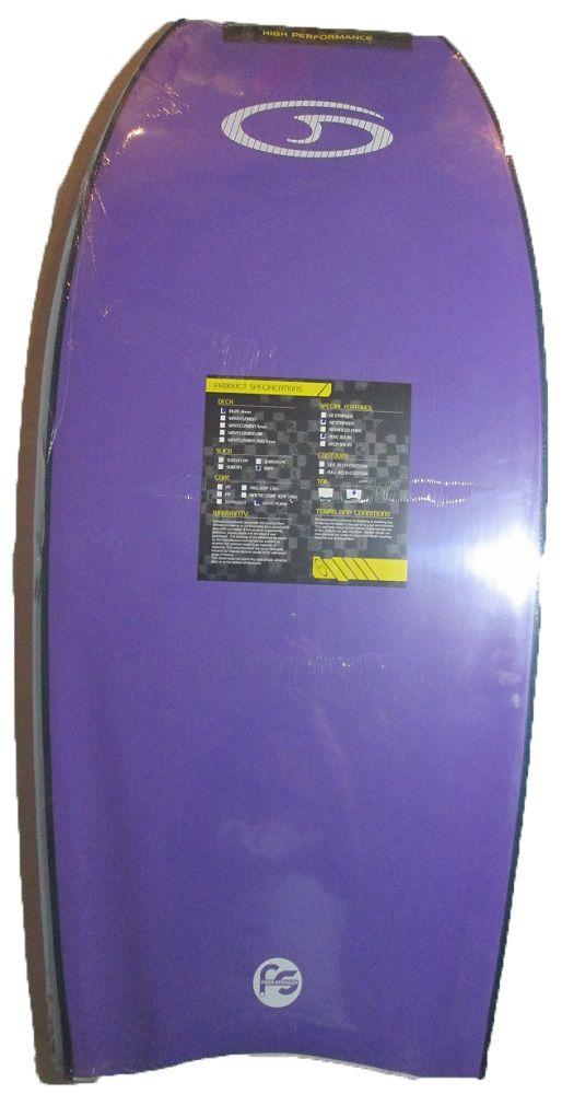 Prancha de Bodyboard Genesis GSX 42´´ Branca