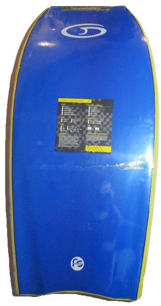 Prancha de Bodyboard Genesis GSX 44´´ Amarela