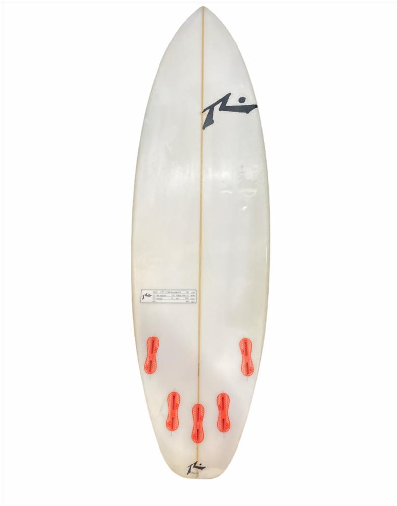 Prancha de Surf Rusty Yes Thanks 5´11´´ usada