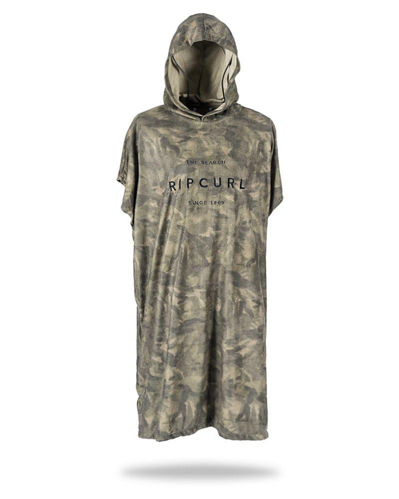 Roupão Toalha Rip Curl Valley Hooded camuflado