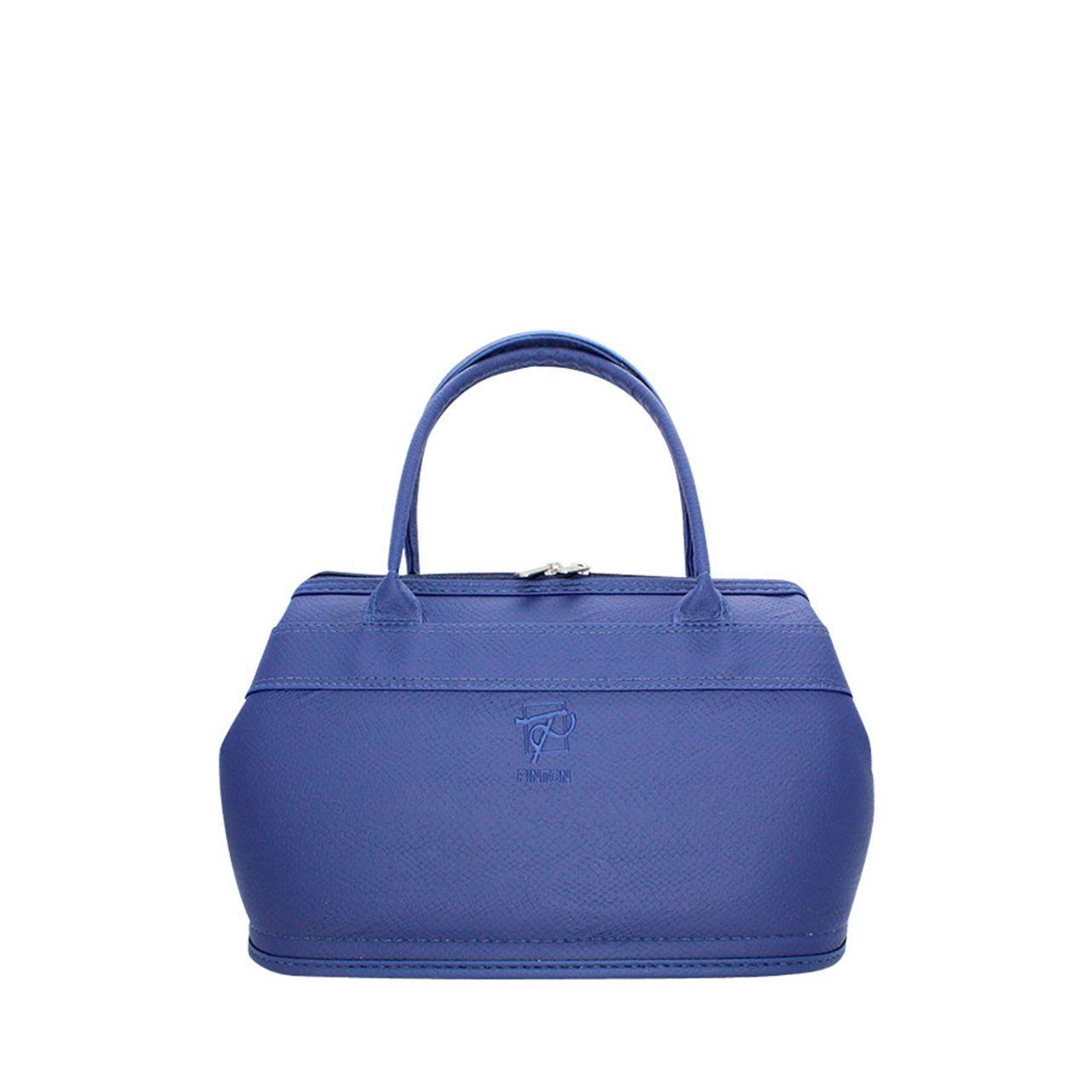 Bolsa Valise - Croco Azul