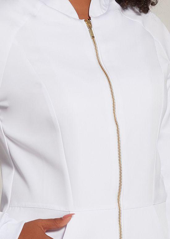 Jaleco Aline - branco