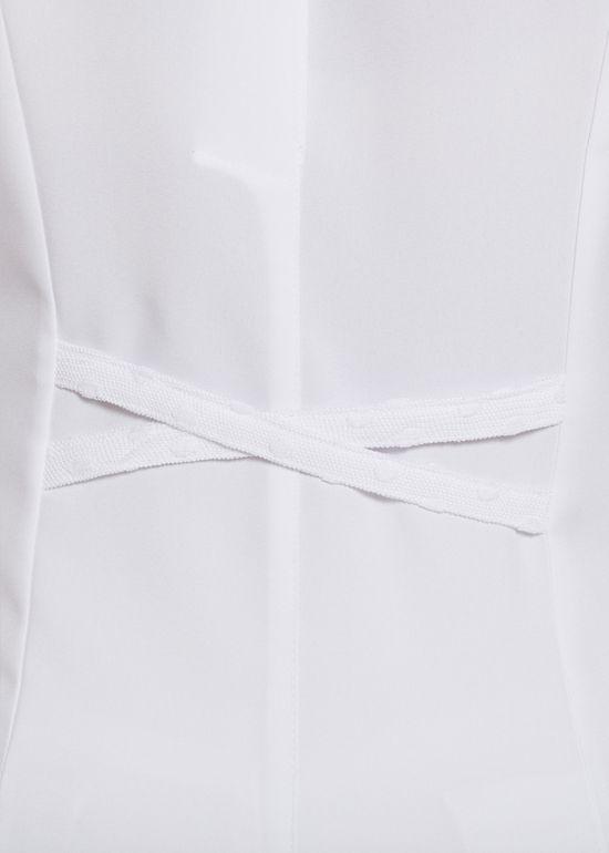 Jaleco Yara Oxford - branco