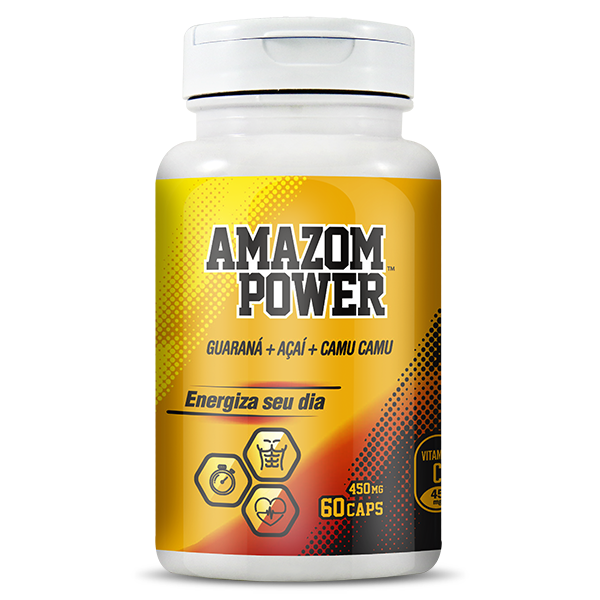 Amazom Power 60 caps 500mg
