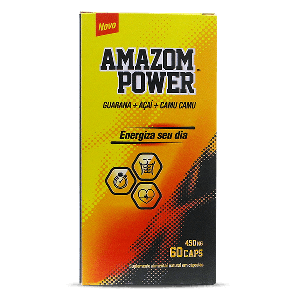 Amazon Power 60 caps 500mg