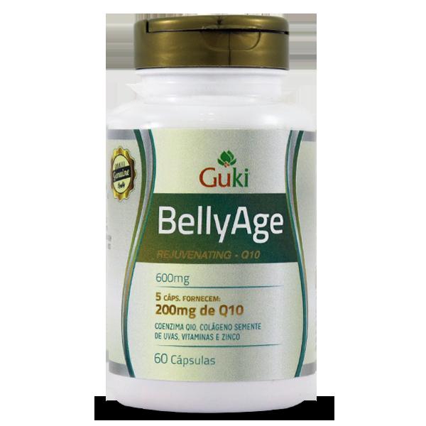 BellyAge CQ10 600mg - 60 Capsulas