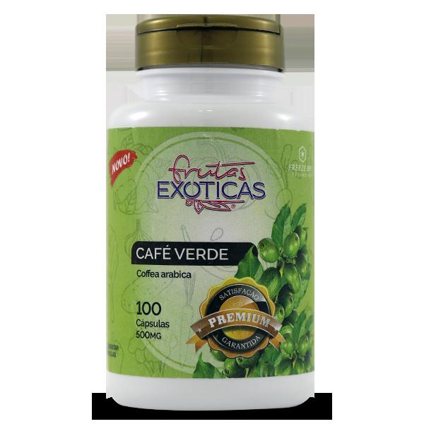 Café Verde 100caps 500mg - AMAZOM LIFE