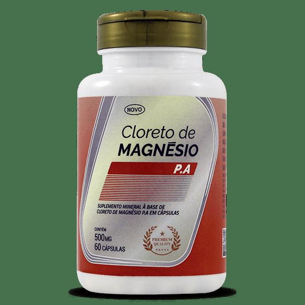 Cloreto de Magnésio P.A. 60caps, 50mg  - AMAZOM LIFE