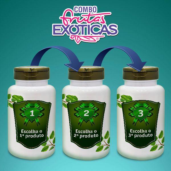 Combo - Frutas Exóticas (3 produtos a sua escolha)