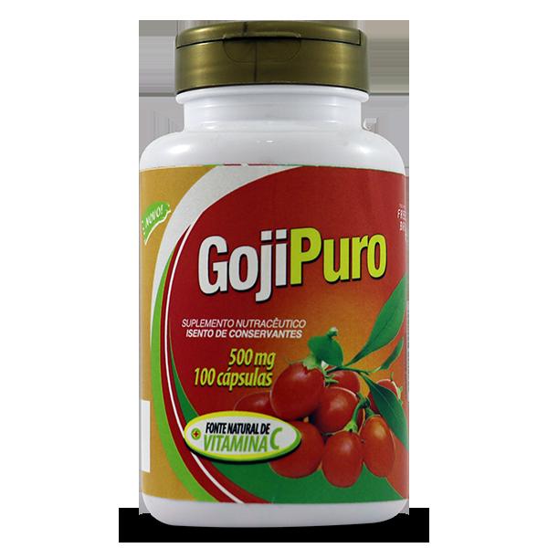 Goji Puro 100caps 500mg - Amazom Life