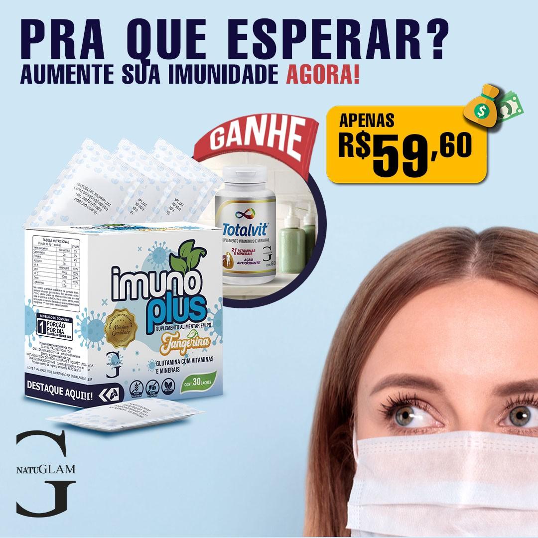 IMUNOPLUS - Sachet. - Promoção Compre e Ganhe!
