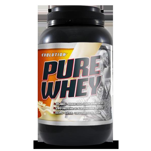 Concentrado Pure Whey-Baunilha