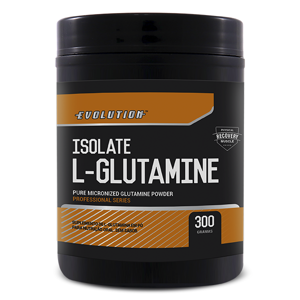 L-Glutamine Isolate Evolution 300g