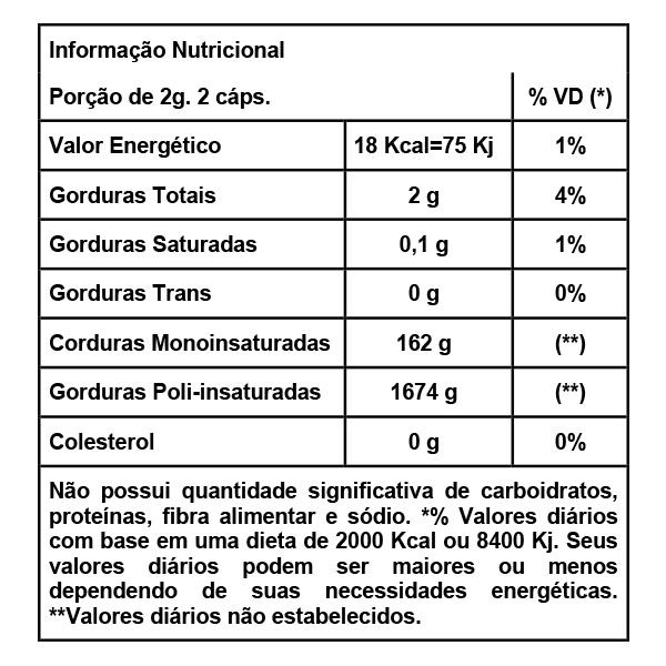 Òleo de Prímula 60caps/500mg - AMAZOM LIFE