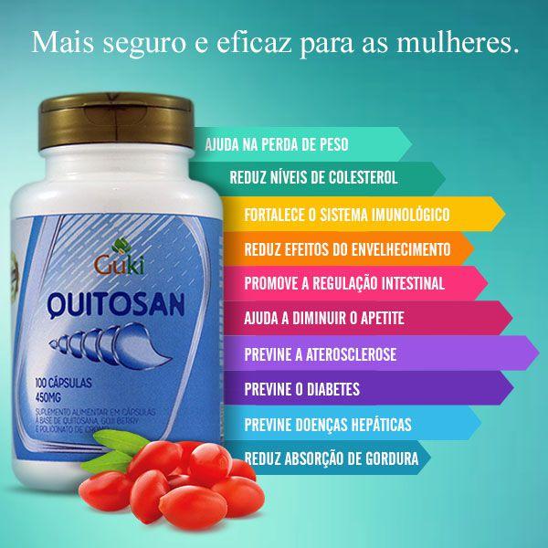 Quitosan 100caps - AMAZOM LIFE