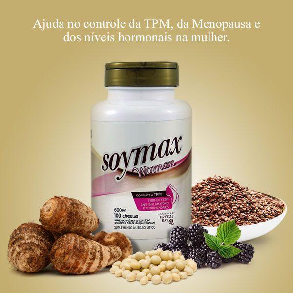 Soymax 100 caps 600mg -  Amazom Life