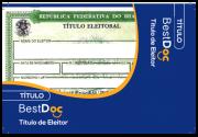 Protetor Título de Eleitor - 10 Peças