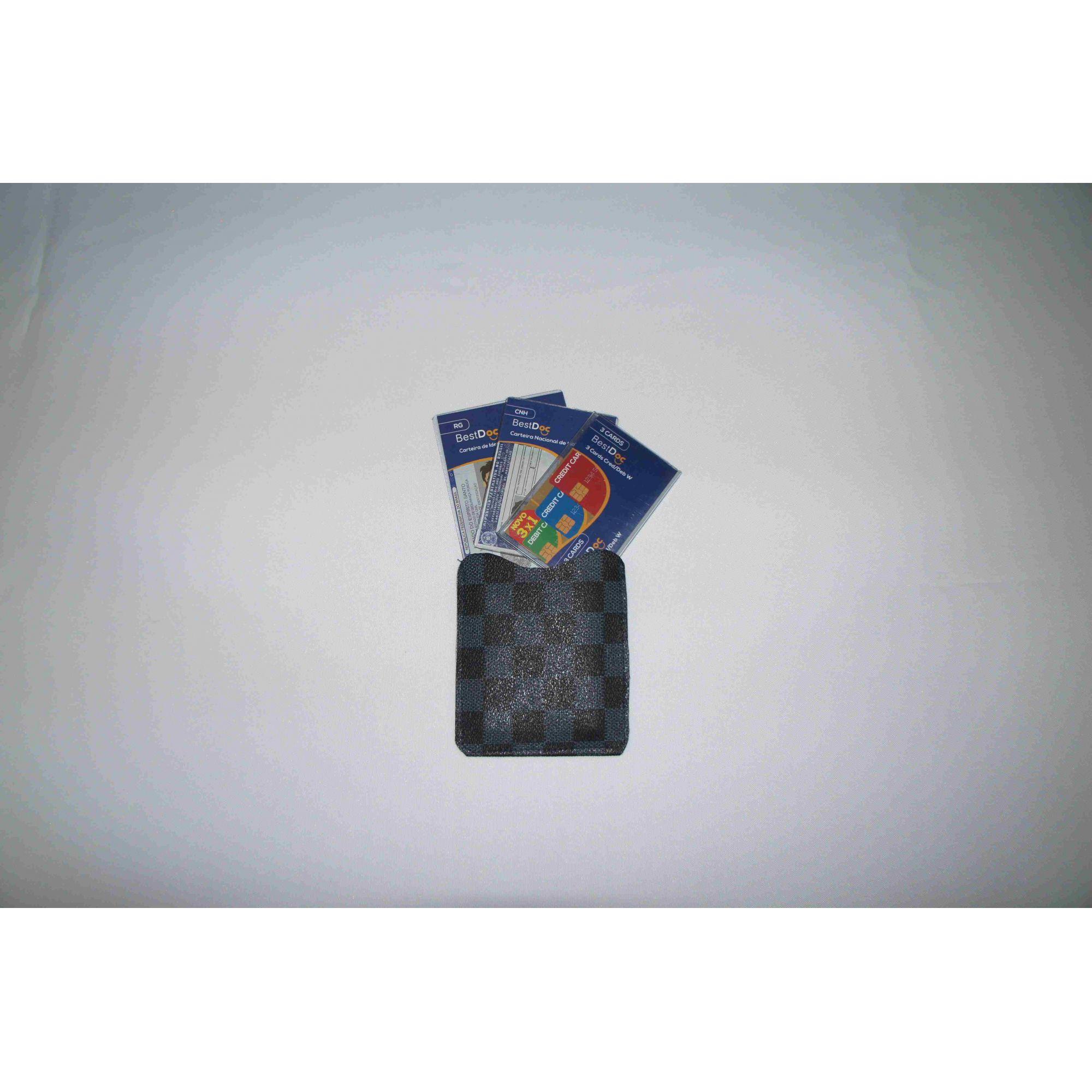 PACK PROTETOR CNH + RG + CARD W COM ESTOJO
