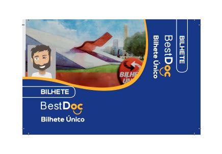Protetor Cartão de Bilhete Único - 10 Peças