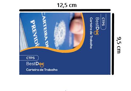 Protetor CARTEIRA DE TRABALHO - 10 Peças
