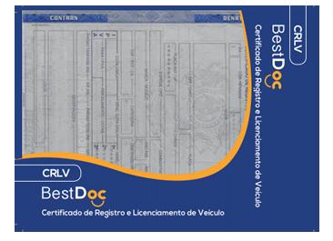 Protetor  CRLV  VEICULO– Certificado de Registro e Licenciamento de Veículos - 10 Peças