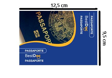 Protetor PASSAPORTE - 10 Peças