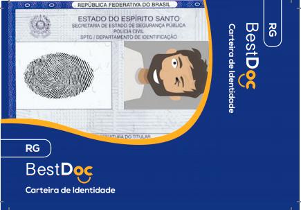 Protetor  RG - Documento de Identidade - 10 Peças