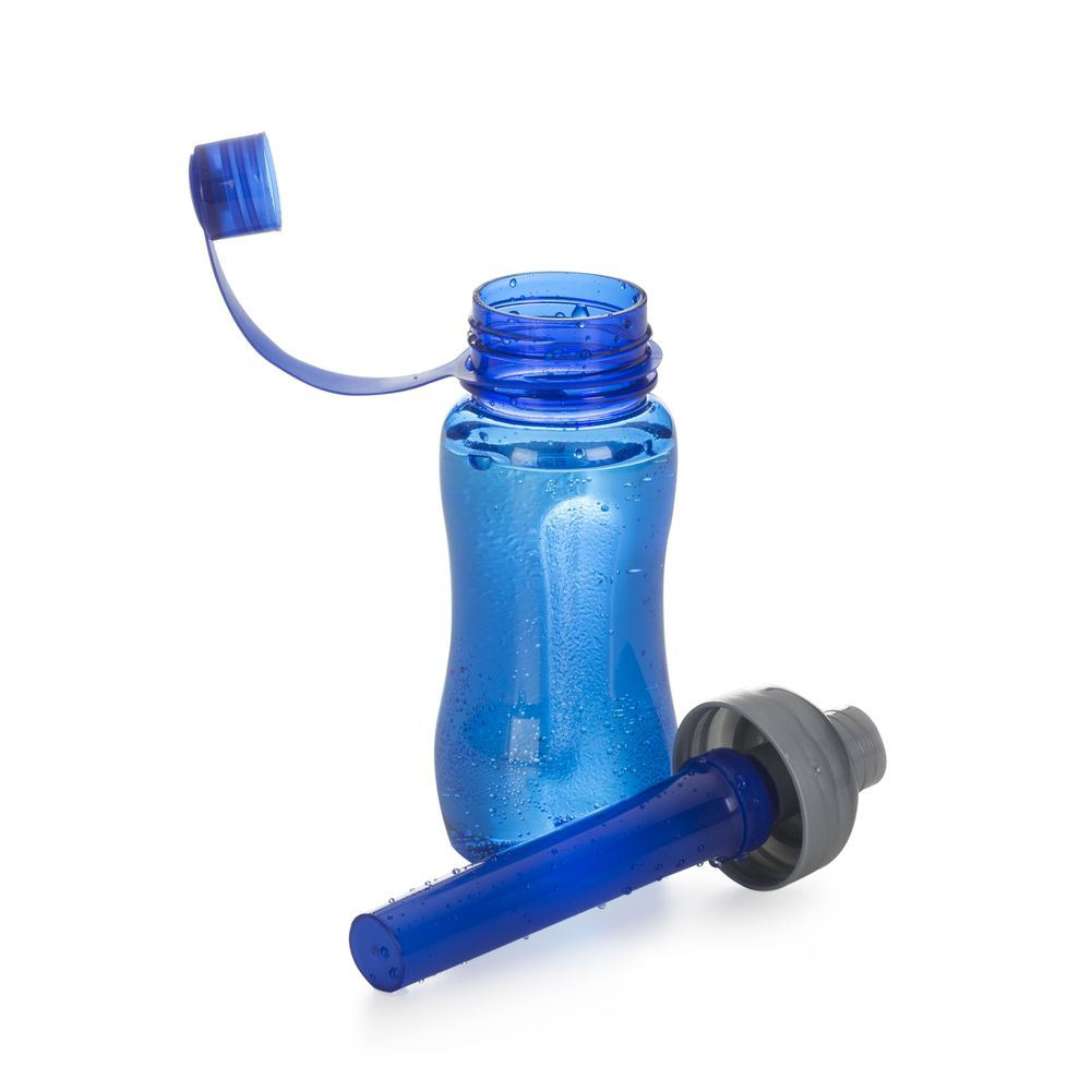 SQUEEZE DE PLASTICO ICEBAR 400ML 10040 AZU/FUM/ROS/TRA/VD/VM