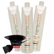 Perfect Liss Escova Progressiva Turmalina Kit 1250ml + Brinde