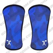 Joelheira 7mm ORIGINAL GOHARDBR Camuflado Azul