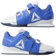 Tenis Reebok Legacy Lifter LPO Exo Frame Branco e Azul