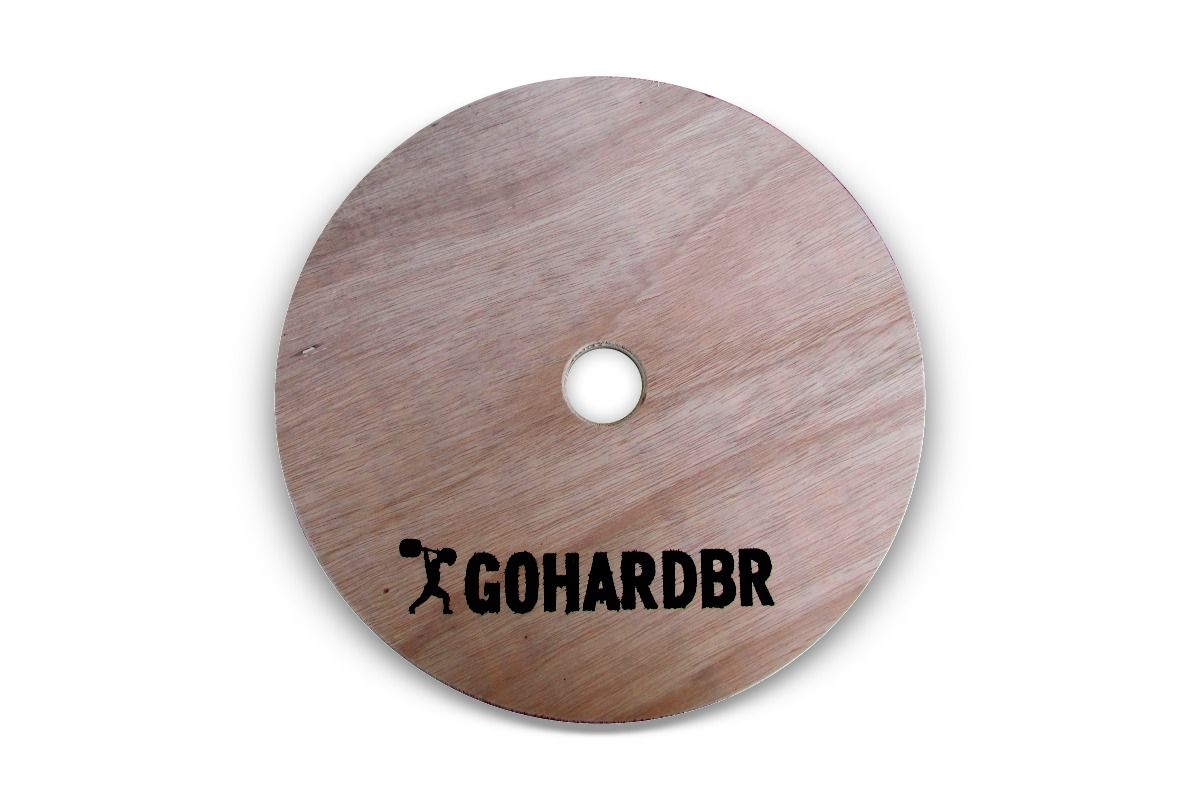 Anilha em Madeira GOHARDBR R$ 50,00/Kg 1 Unidade - FAÇA SUA COTAÇÃO ANTES DA COMPRA!