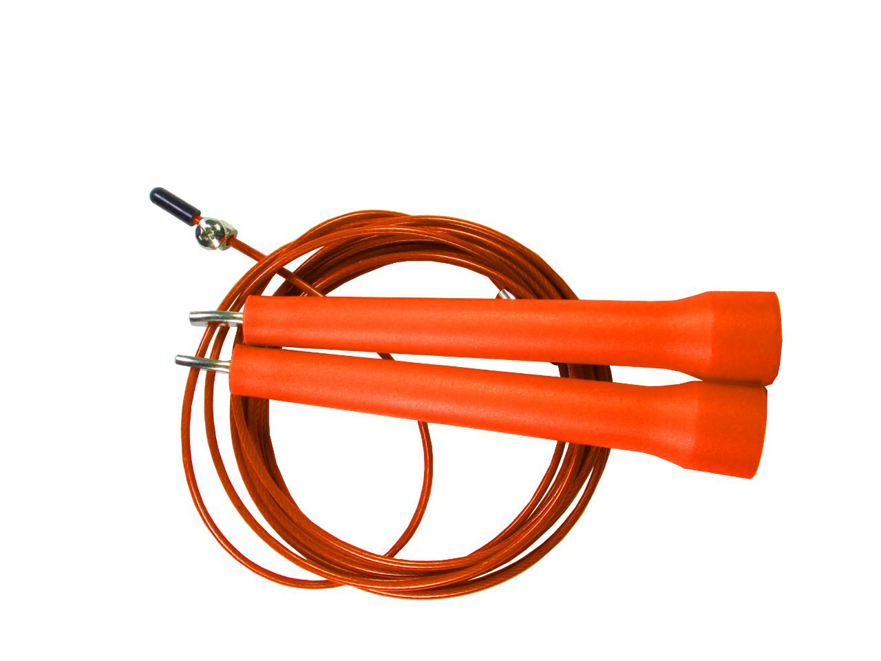 Corda De Pular Speed Rope 1 Rolamento / PVC Laranja
