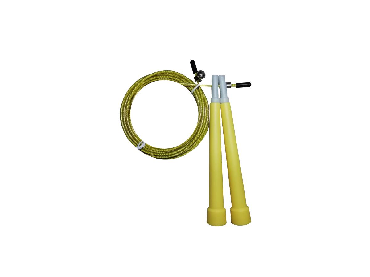 Corda de Pular Speed Rope / PVC / Amarelo