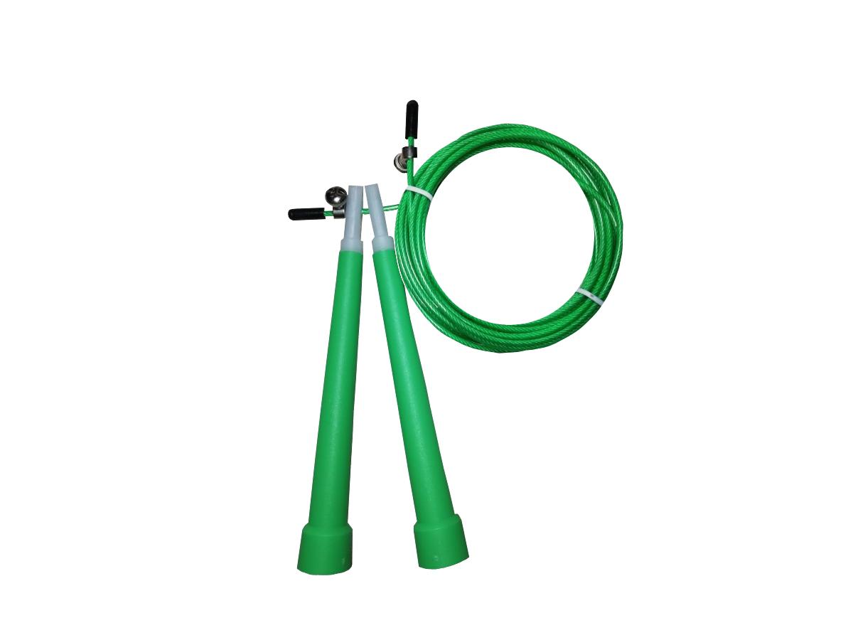 Corda De Pular Speed Rope / PVC Verde