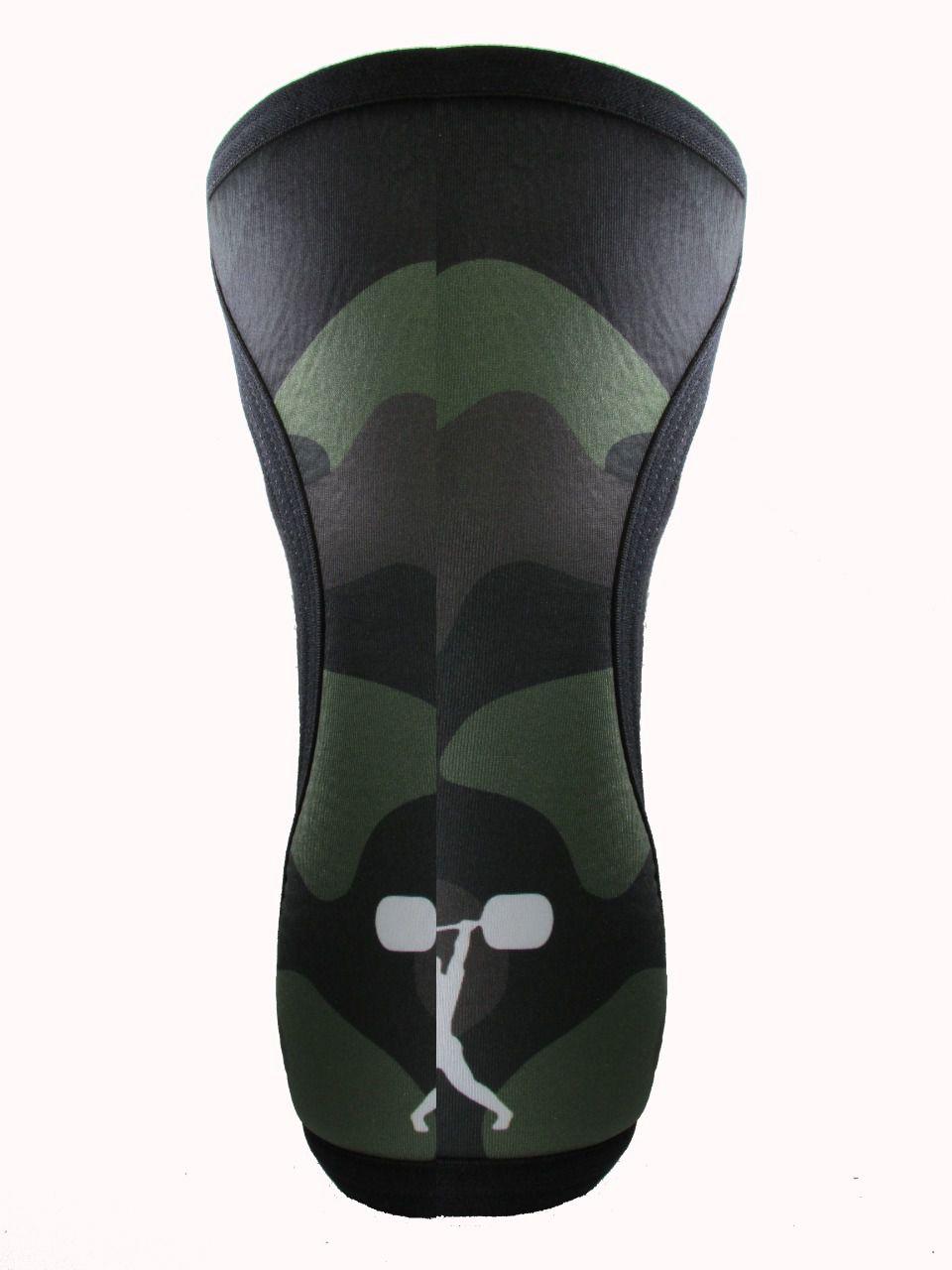 Joelheiras Verde Camuflado  7mm
