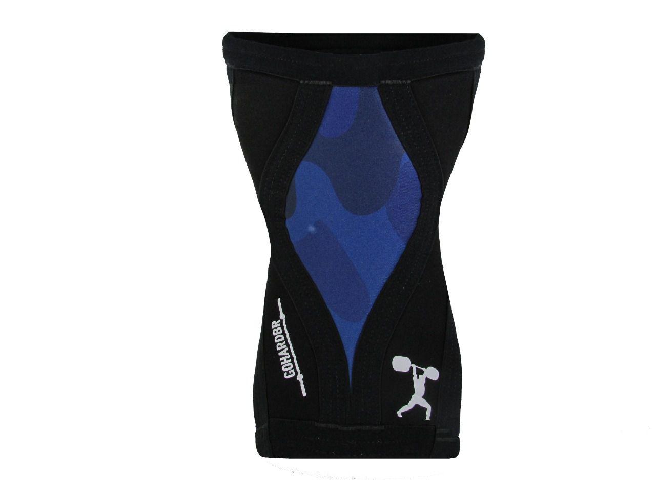 Joelheiras Azul Camuflado  7mm