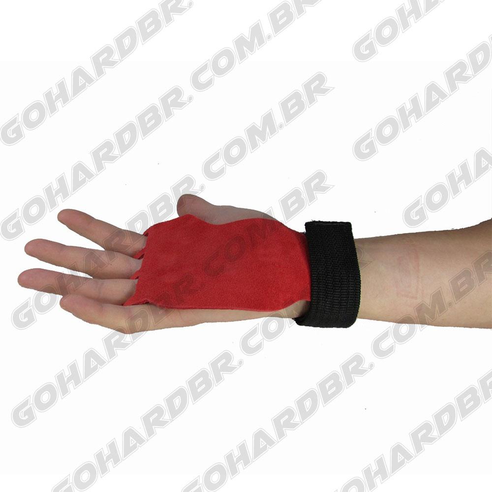Luvas Grip 3 Furos Training Vermelho